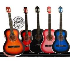 Drevená gitara 97 cm